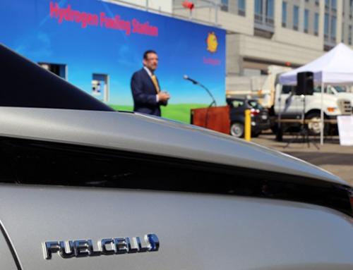 D.C. Showcases FCEVs Fueling Station