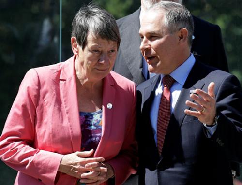 Pruitt and Hendricks at G7 Climate Talks