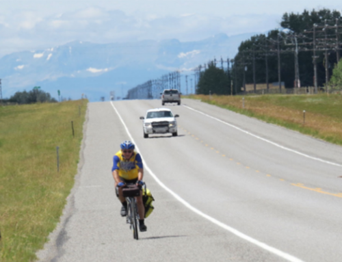 David Goodrich Bikes Across America; Spreads Word on Climate Change
