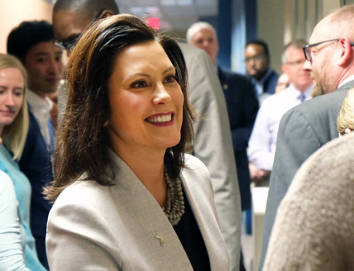 Gov. Gretchen Whitmer of Michigan Puts Climate Change at Heart of Government