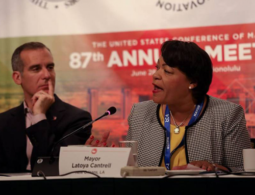U.S. Mayors Voice Support for Climate Change Related Resolutions