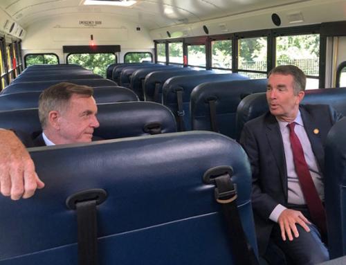 It's Electric: Virginia's Yellow School Buses Going Green